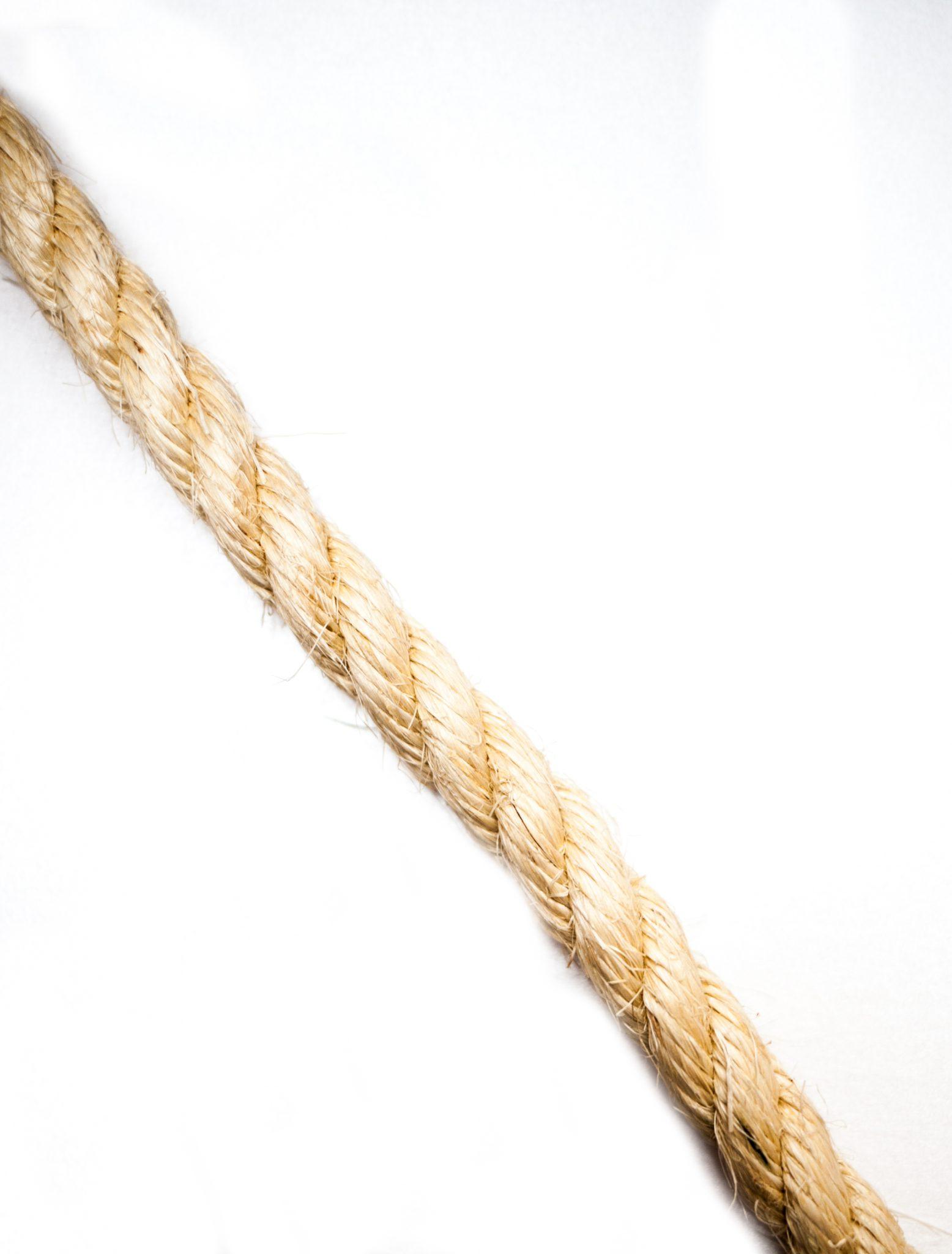 40mm Natural Sisal Rope (Sold by Meter)