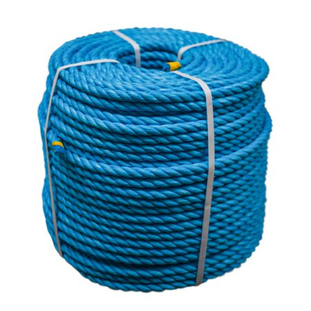 Blue-Polypropylene-Rope-coil-stand