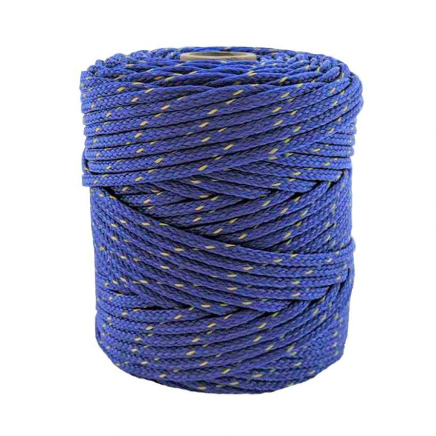 Dark-Blue with-Yellow-Fleck-Polyethylene-Twine