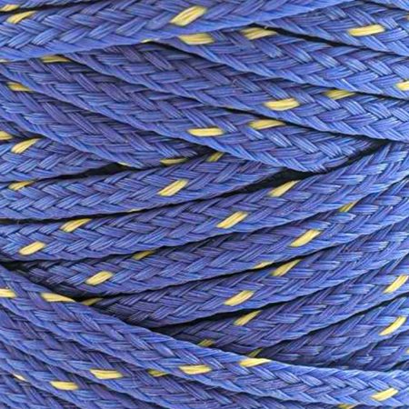 Dark-Blue with-Yellow-Fleck-Polyethylene-Twine-zoom