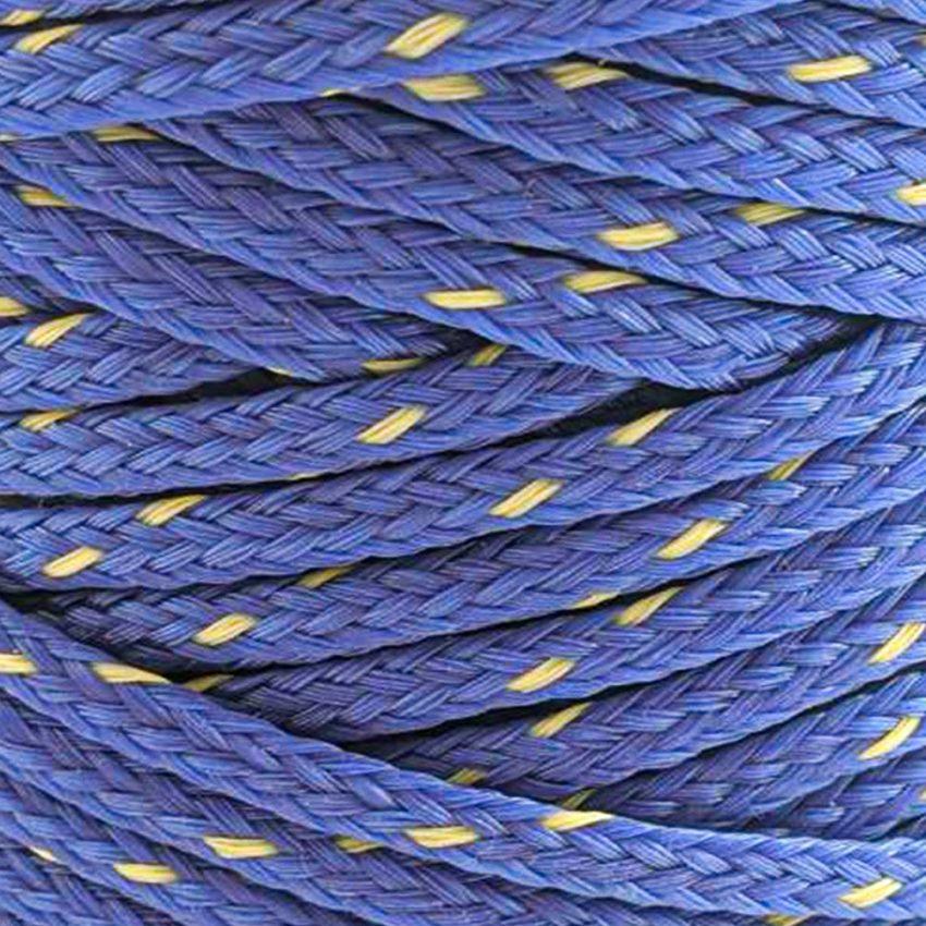 Dark-Blue with-Yellow-Fleck-Polyethylene-Twine-zoom
