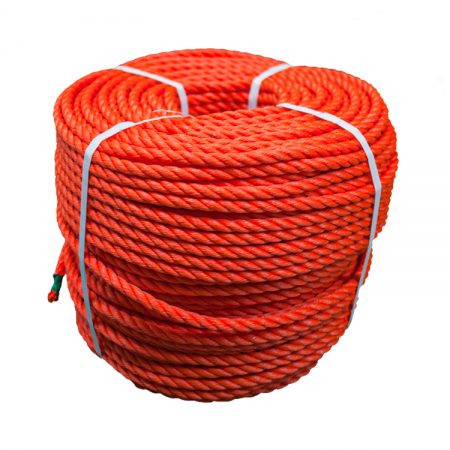 Orange-Polyethylene-Rope-coil-stand