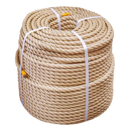 Synthetic-Hemp-Rope-coil-stand