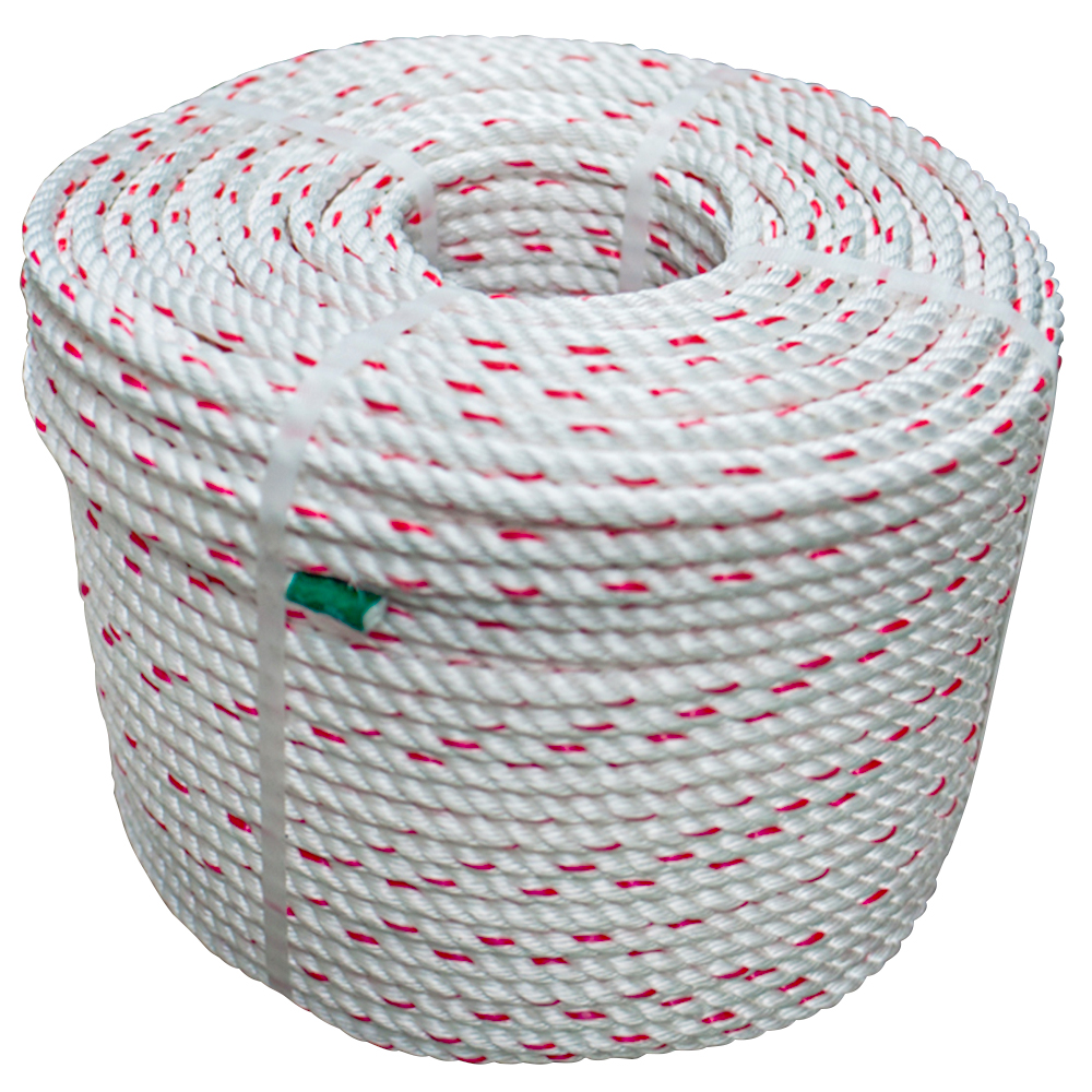 220M Marine Boat Yacht 5MM 220 Metre Coil White Braided Polyester Rope
