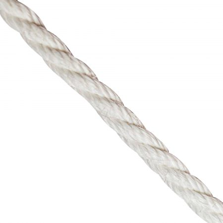 White-Staple Spun-rope-by-the-meter