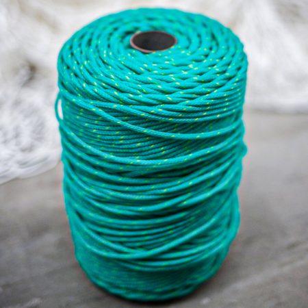 Yellow & Green-Braided-Polysteel-Twine