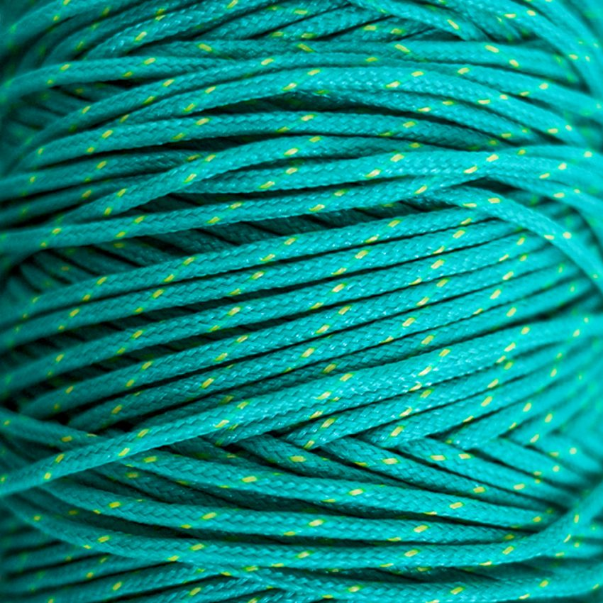 Yellow & Green-Braided-Polysteel-Twine-zoom