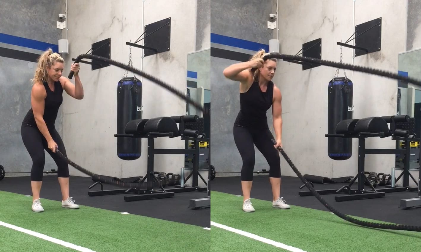 Battle Rope Exercises: The Complete List
