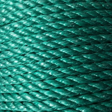 Green Polypropylene Rope