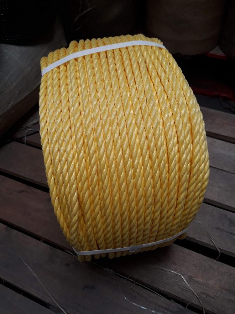 yellow-polypropylene-rope