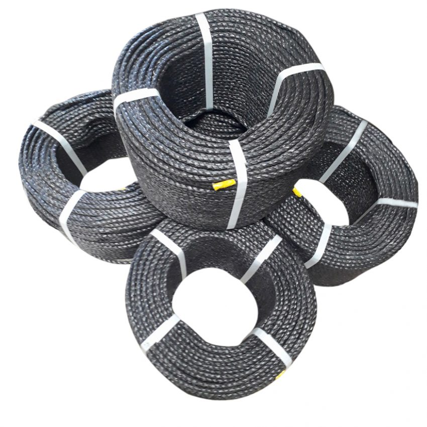 Black-Polypropylene-Rope-coil-stack