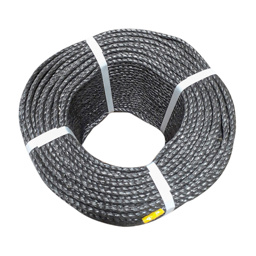 Black-Polypropylene-Rope-coil-top