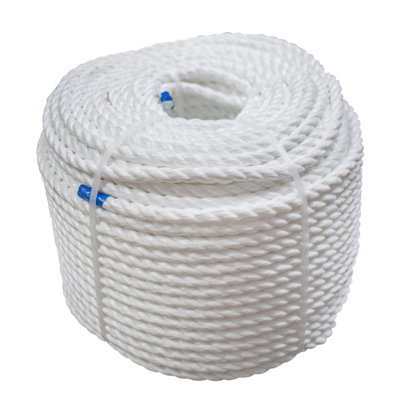 White-Polypropylene-Rope-coil-stand