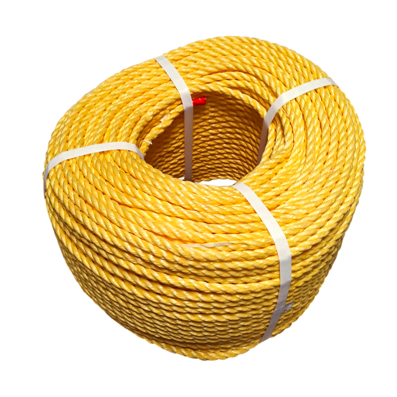 Yellow-Polypropylene-Rope-coil-stand