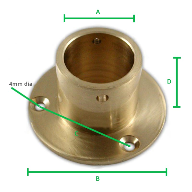 Brass-Decking-Rope-Cup-End-dimension