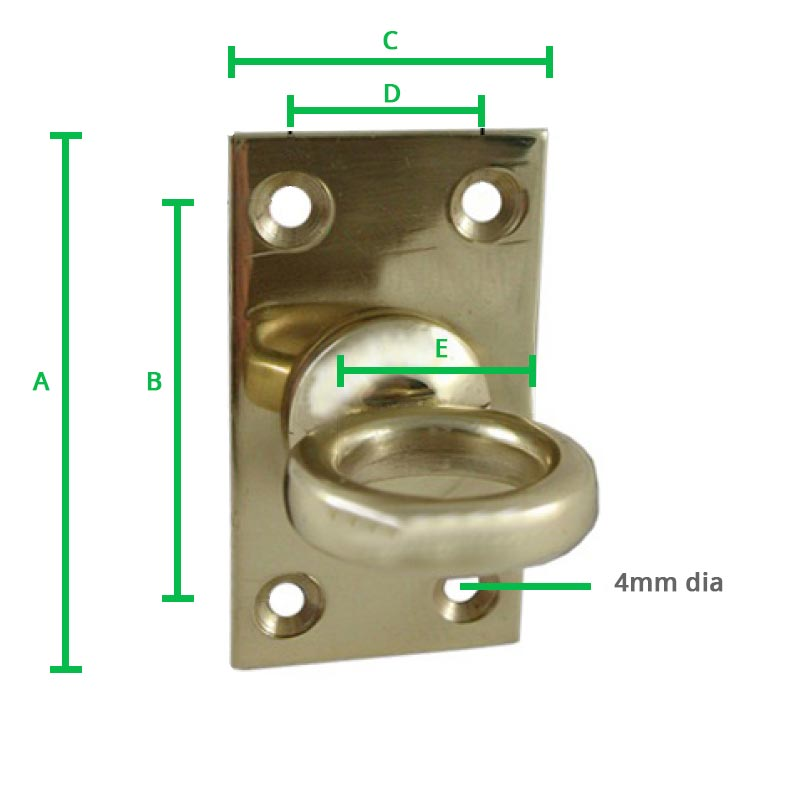 Brass-Decking-Rope-Plate
