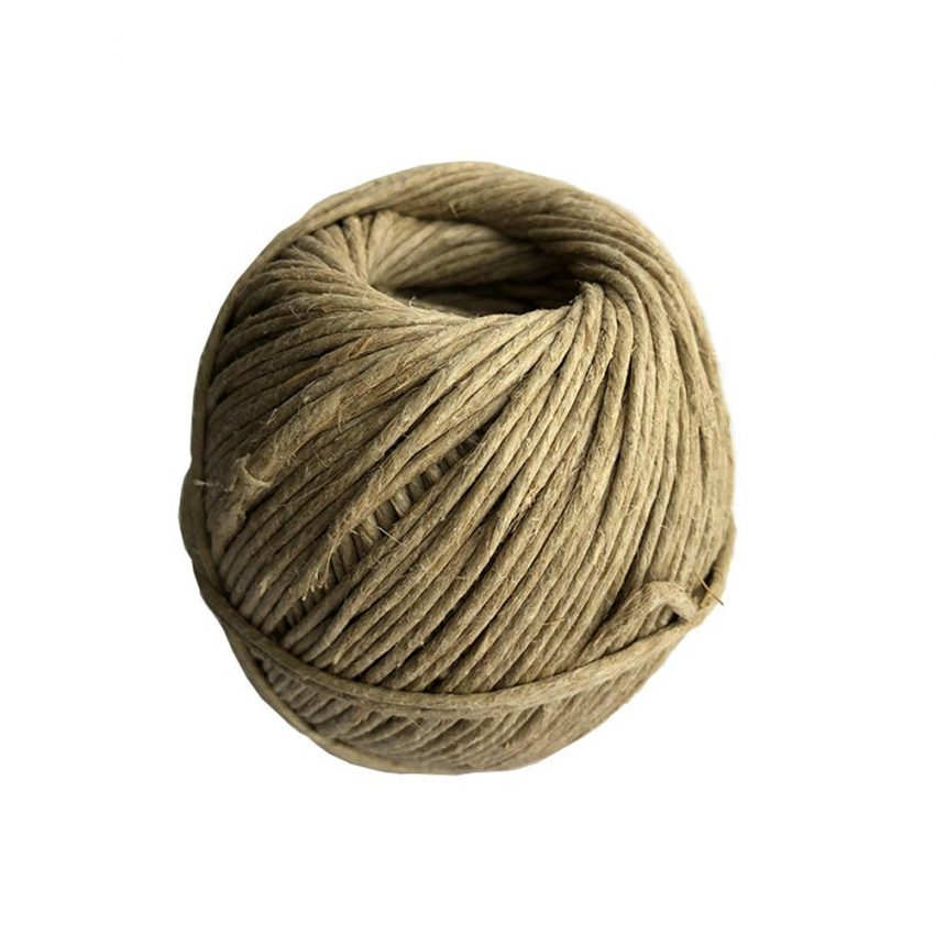 Polished-Plain-Flax-Craft-Twine
