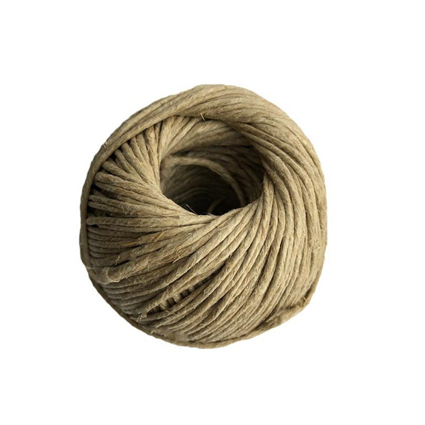 Polished-Plain-Flax-Craft-Twine-side