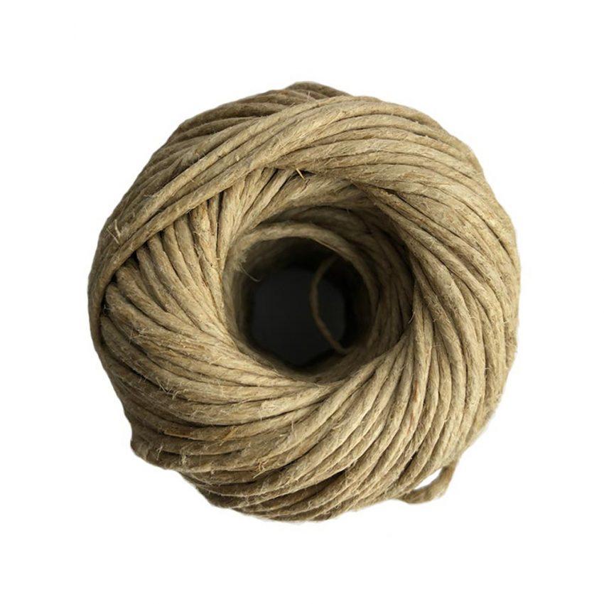 Polished-Plain-Flax-Craft-Twine-top