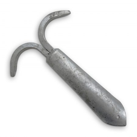 Galvanised Double Boat Hook End