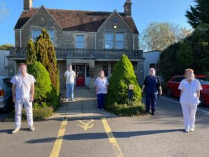 Fundraising for the Cheltenham and Cirencester Scrubbers – Together for NHS