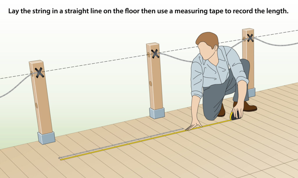 measure-decking-posts-distance-with-string