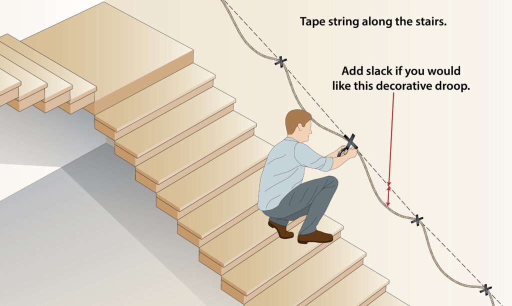 how-to-measure-stair-rope-handrail