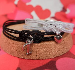 Matching DIY Cord Bracelets